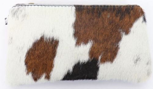 Leather Animal Print Purse/Wallet - Pony